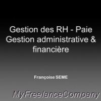 Consultante Formatrice en gestion, comptabilité et ressources humaines, Françoise SEME